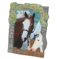 Mare and Foal 3-D Frame
