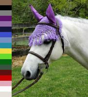 Pony Crocheted Ear Nets