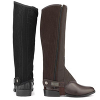 Dublin Easy Care Synthetic Half Chaps