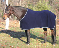 "TuffRider Fleece Dress Sheet, Navy,  Size 68"" Only"