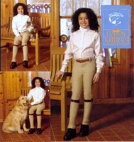 On Course Cotton Naturals Pull On Jodhpurs