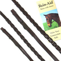 Rein-Aid Laced Leather Reins
