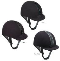 IRH ATH Helmets, Black, Clear & Gun Metal