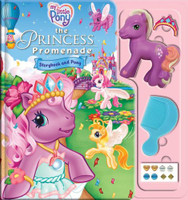 My Little Pony - The Princess Promenade Storybook & Playset