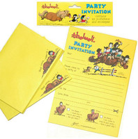 Thelwell Pony Party Invitations