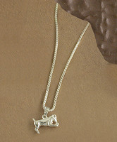 Sterling Jack Russell Necklace