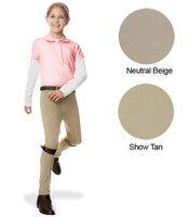Ovation Euroweave Side Zip Jodhpurs, Sizes 2 - 14, Two Colors
