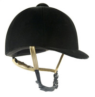 International Olympian Velvet Helmet