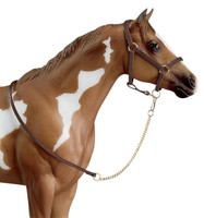 Breyer Leather Halter with Lead Chain