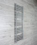 500mm Wide 1530mm High Square Tube Chrome Heated Towel Rail Radiator