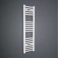 350mm wide 1000mm high heated towel rail