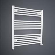 850 x 800mm Flat White Towel Radiator