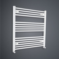 900 x 800mm Flat White Towel Radiator