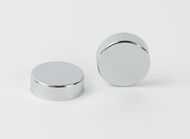 Chrome Caps for Towel Radiator Plugs