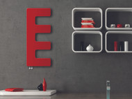 E-Type Designer Towel Radiator Red