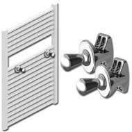 Chrome Towel Radiator Hooks
