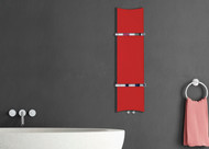 Designer Towel Radiator Bone Red