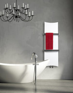 White Designer Heated towel Rail Radiator