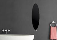 Designer Towel Radiator Surf Style Black