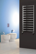 Reina Arden Polished or Satin (Brushed) Heated Towel Rail Radiator 500mm Wide x 500mm High