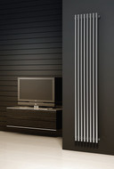 Reina Orthia Polished or Satin (Brushed) Heated Towel Rail Radiator 390 mm Wide x 1800 mm High