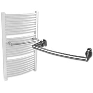 500mm Extra Hanger Bar for Heated Towel Rail Radiator Chrome Curved