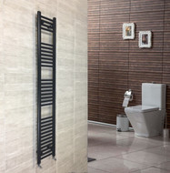 300mm wide 1800mm high heated towel rail