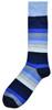 Wide Stripes - Blue
