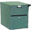 Mail Chest Locking Front and Rear Access Mailbox