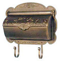 Hummingbird Wall Mount Mailbox Horizontal