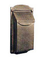 Contemporary Vertical Wall Mount Mailbox