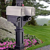 Rockport Twin Mailbox Post - Color