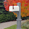 Newport Plus Mailbox Post - Color
