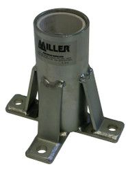 Miller Floor Mount Sleeve ## DH-7ZP ##