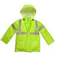 Nasco Arclite High Visibility 1500 - Rain Jacket - Fluorescent Yellow ## 1503JFY ##
