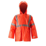 Nasco Arclite High Visibility 1500 - Rain Jacket - Fluorescent Orange ## 1503JFO ##