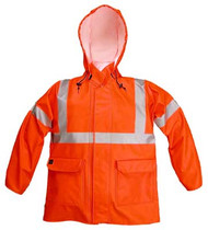 Nasco Arclite High Visibility 1000 - Rain Jacket - Bright Orange ## 1103JBO ##