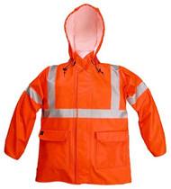 Nasco Arclite High Visibility 1000 - Rain Jacket - Bright Orange ## 1103JBO ##
