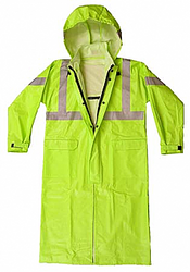 Nasco Arclite High Visibility 1500 - Full-length Raincoat - Fluorescent Yellow ## 1503CFY ##