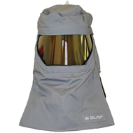 Salisbury 40 cal/cm² Pro-Hood Arc Flash Protection Hoods with integrated air system