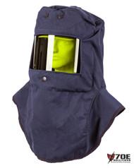 Oberon LCI4-C 42 cal/cm² Hood with Hard Hat