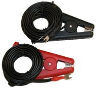AEMC 1017.84, 10 Amp Kelvin Clamps, 10 ft Leads, Spade Lug
