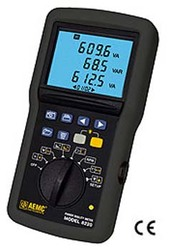 AEMC 2130.9 8220 Single-Phase Power Quality Analyzers