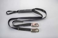 """96516KLYDE 1 3 4"""" x 6' Nomex® Kevlar® lanyard web loop choker and snap hooks"""