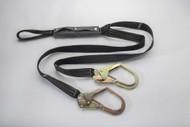 "96516KLYCTDE 1 3 4"" x 6' Nomex® Kevlar® lanyard web loop choker and rebar hooks"