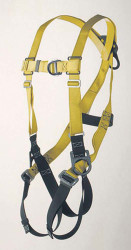 9630F Full body harness climbing type D-ring center back and front and on hips