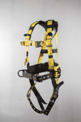9639MLX Full body harness iron workers type Back pad and tool belt tongue buckle let quick release chest with Mini-X
