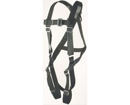PF-96306FT Pillow-Flex harness positioning type D-ring center back front hips and tongue buckle connections