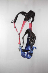 96400-1-QLNP Rappelling Harness 5 D-Ring X-Pad Padded Leg with Quick Release Buckle