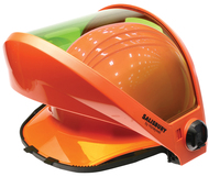 AS1200U Universal Fit Protective Face Shield - Full or Front Brim HRC 2